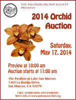 2014 Orchid Auction